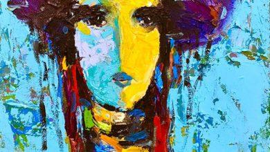 اللوحة: لقمان أحمد